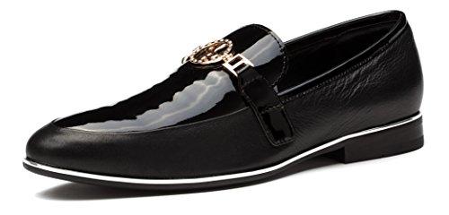 OPP - Zapatillas de Piel para Hombre
