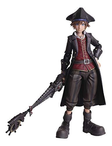 Square Enix XKH3BZZZ07 Kingdom Hearts III Bring Arts Sora AF Pirate Ver