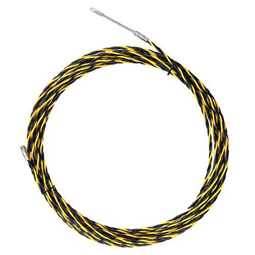 MJJEsports 15M 5mm spiraal kabel trekker leiding slang kabel staaf vis tape draad gids