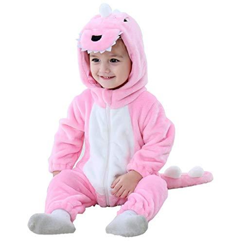 Halloween Baby Pink Dinosaur Costumes Toddler Onesie Pajamas Infants...