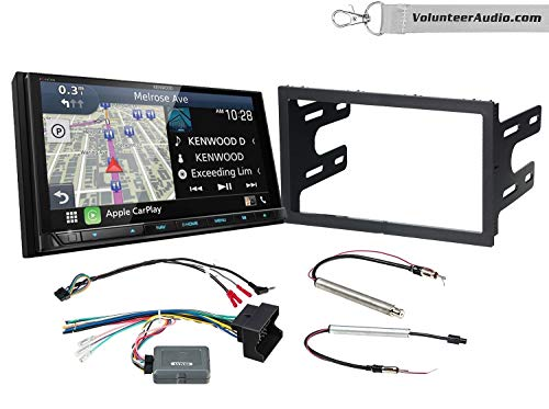 Great Features Of Kenwood Excelon DNX996XR Double Din Radio Install Kit With Apple CarPlay, Android ...