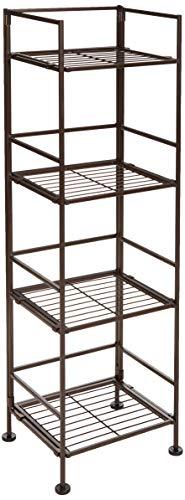Amazon Basics 4-Tier Iron Tower Shelf