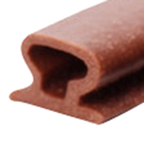 Lvguang Expower Selbstklebende Tür Türdichtung Dichtungsstreifen Zugluftstopper gegen Insekt Ersatzdichtung Wetterfest Blocker Schalldichtung Silikon Türstopper (Braun#3,10 * 6 * 6000mm)