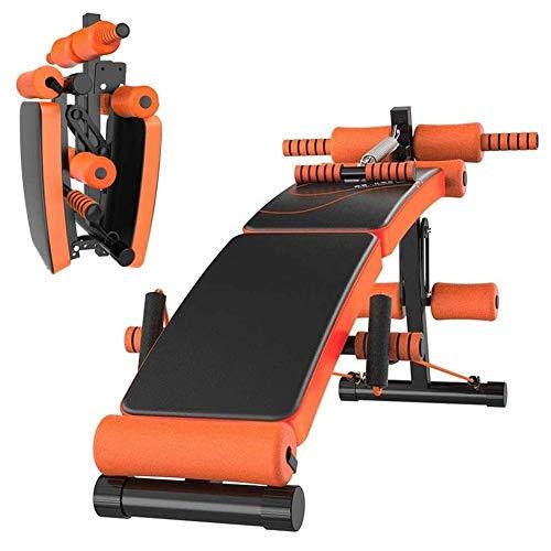 Cnley Entrenamiento ajustable Banco de mancuernas Home Gym Gym Down Down Septar...