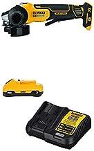 DEWALT 20V MAX XR Brushless Cut Off/Grinder Tool with 3Ah Battery & Charger Kit (DCG413B & DCB230C)