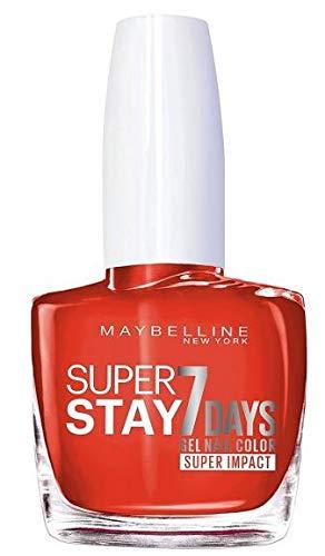Maybelline New York - Vernis TENUE & STRONG PRO - 884 Nonstop Orange