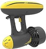 Sgxiyue Scooter de Chorro de Motor eléctrico Submarino portátil para Buceo, operación con una Sola Mano, Equipo de Buceo (Velocidad máxima de propulsión: 6,5 km/h)