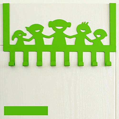Türhaken zum Aufhängen an der Tür, robuster Türhänger für Mäntel, Bademäntel,...