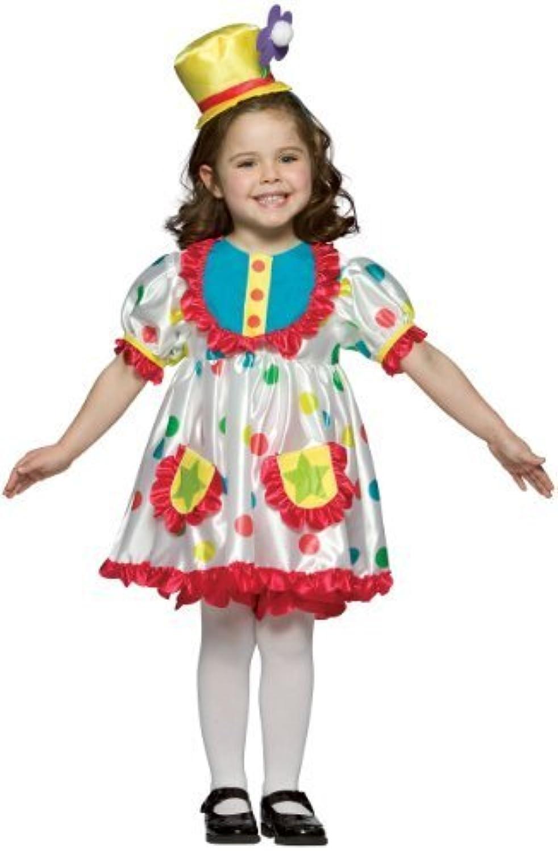 Big Girls' Clown Costume Small (46) by Rasta Imposta