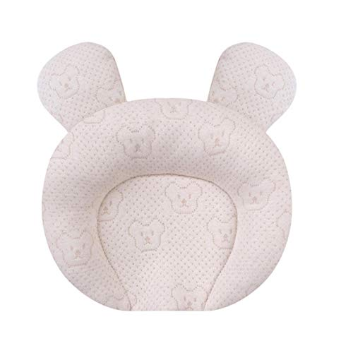 SFBBBO pillow Breathable Stereotypes Anti-Head Protective Pillow 100% Cotton Latex Pillow For 0-1 Years Old Head Pillow 2