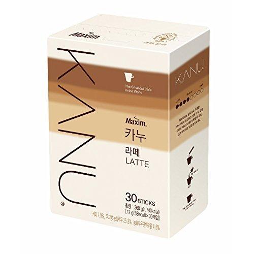 Kanu Maxim Latte Instant-Kaffee, 12 g (58 kcal), 30 Stück
