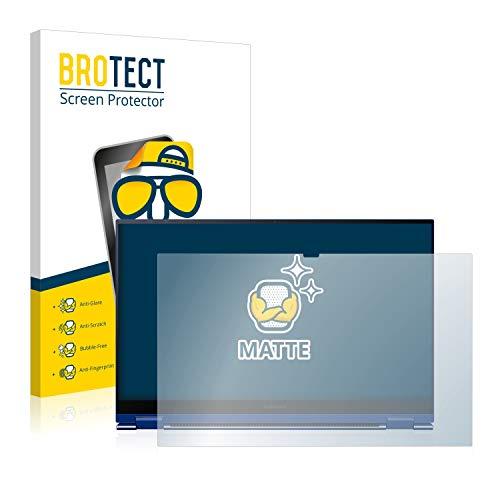 BROTECT Entspiegelungs Schutzfolie kompatibel mit Samsung Galaxy Book Flex 156 Displayschutz Folie Matt Anti Reflex Anti Fingerprint
