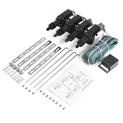 JINXL Sistema de alarma de coche HC-502 12V Universal Central Lock Accesorios para herramientas automotrices