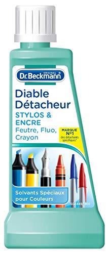 """Dr.Beckmann - """"Diable Détacheur"""" da 50 ml, smacchiatore contro penne e pennarelli"""