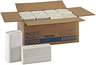 Pacific Blue Select Multifold Premium 2-Ply Paper Towels by GP PRO (Georgia-Pacific), White, 21000, 125 Paper Towels Per Pack, 16 Packs Per Case