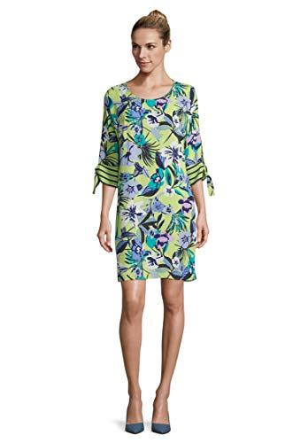 Betty Barclay Damen 1022/1264 Kleid, Mehrfarbig (Green/Blue 5880), (Herstellergröße: 44)
