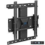 Staffa di montaggio a parete per TV Dream, regolabile in altezza per la maggior parte delle TV a LED, LCD e OLED da 26 a 65 pollici, fino a VESA 400 x 400 mm e 45 kg, presa a muro Fischer inclusa