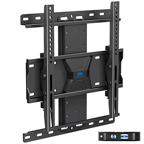 Mounting Dream TV Wall Mount with Height Adjustable for 26-65″ TVs, Universal Tilt TV Mount Fits Single, 16″ Studs with Loading 99 lbs. & Max VESA 400x400mm, TV Wall Mount with Perfect Center Design