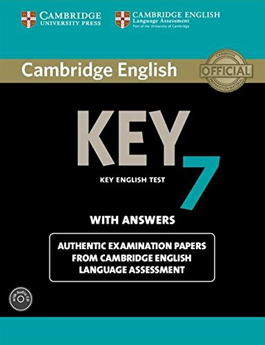 Cambridge English Key 7 Student's Book Pack Student's