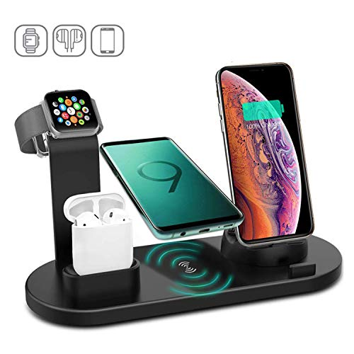 CEREECOO 4 in 1 Wireless Charging Station Dock Now $20.98 (Was $34.97 )