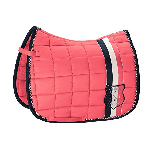 Eskadron Schabracke Big Square Cotton (Classic Sports Frühjahr-So, Fusion Coral, Dressur