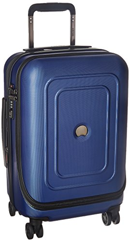 DELSEY Paris Cruise Lite Hardside 19' Intl. Carry on Exp. Spinner Trolley, Blue