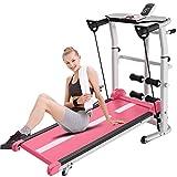 WPJ Manual Beginner Treadmill, Multifunctional Folding Running Machine, Incline Jogging Fitness...