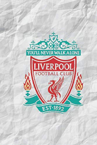 Liverpool Notebook: Liverpool Notebook for fans 2021: Football Soccer Notebook, Journal, Diary, Organizer (120 Pages, Blank, 6 x 9 inches)