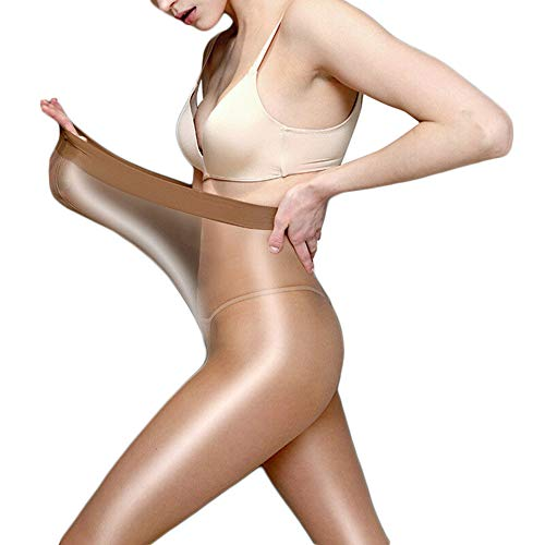 MAyouth Damen 70 Denier Tights Stretch, Run Resistant Opaque Kontrolle Top Strumpfhosen, Damen Opaque Strumpfhose, Super Glänzender Glanz Strumpfhose Strümpfe Strumpfhosen