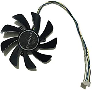 Miwaimao 85MM Fan R9 285/380 GPU VGA Cooler For Radeon Sapphire R9 285 ITX OC Edition R9 380 2G D5 ITX Graphics Cooling