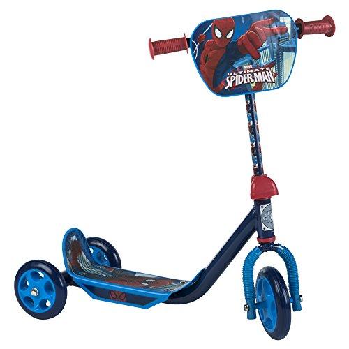 ColorBaby - Patinete 3 ruedas, Spiderman (42790)