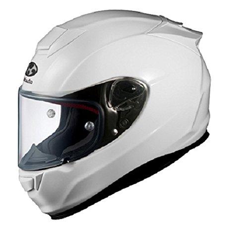 オージーケーカブト(OGK KABUTO)バイクヘルメット フルフェイス RT-33 ホワイト (サイズ:L)