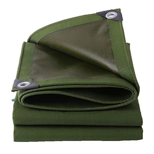 Lona Verde Impermeable para Muebles, Cubierta De Caravana, Multiusos, Tela Protector Resistentes, Lonas En Muchos Tamaños Y Espesores