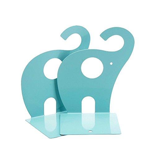 Jzhen Niedlichen Elefant Buchstützen,1 Paar Kinder Buchstützen Deko