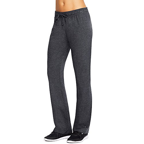 Champion Authentic Women's Jersey Pants_Granite Heather_XL