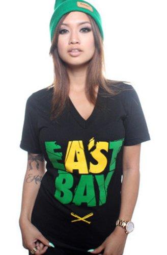 Adapt Women's Eastbay V-Neck X-Large Black