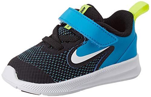 Nike Downshifter 9 (TDV), Zapatillas de Gimnasio Unisex Niños, Negro (Black/White/Anthracite/Cool Grey...