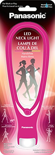 Panasonic Energy Corporation Panasonic BF-AF10B-P/A Hand Free LED Neck Light, Pink, 1 Count (Pack of 1)