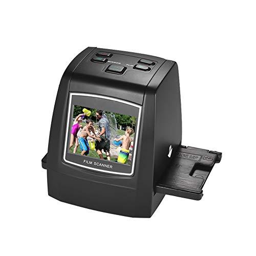 NZYMD - Scanner per pellicole, converte 35 mm 135 126 Super 8 negativi e dia a Digital JPEG ad alta risoluzione di 22 MP, non richiede computer