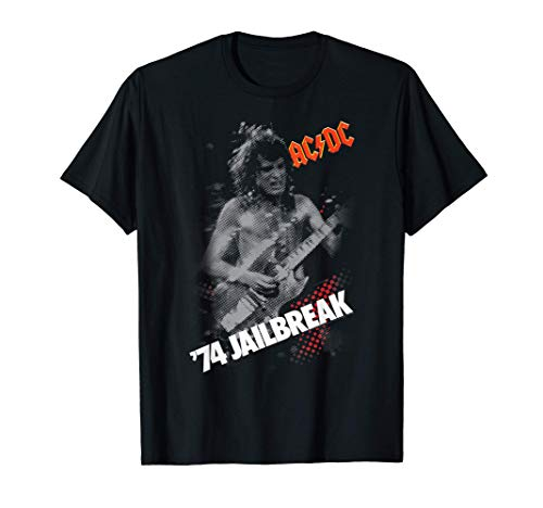 AC/DC Angus '74 Jailbreak T-shirt, 4 COlors for Men, Women, S to 3XL