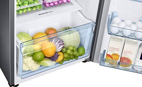 Samsung 253L 3 Star Inverter Frost Free Double Door Refrigerator (RT28T3743S8/HL, Elegant Inox, Convertible) 5