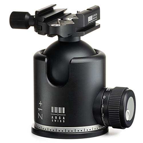 Arca Swiss Monoball Z1+ Single Pan Tripod Head with Quick Set Classic Device (Plate Not Included)