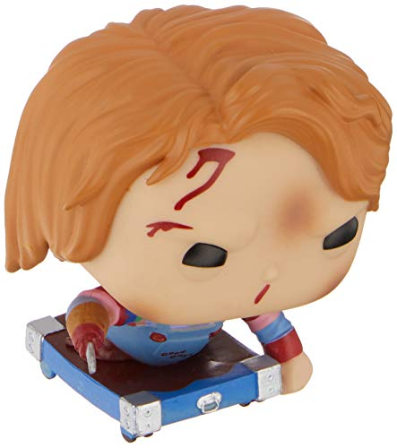 Funko - ChildS Play-Chucky On Cart Exclusive Figurina, Multicolor, 35039