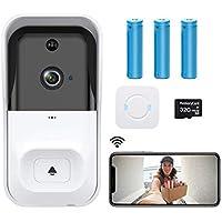 Castries 1080p WiFi Video Doorbell with Indoor Chime