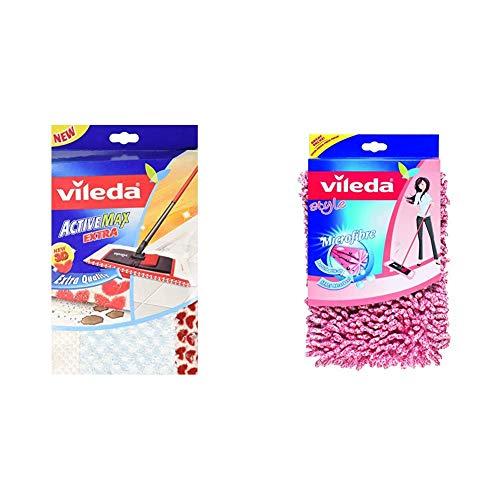 Vileda VIL120890Ersatz-Wischbezug für Flachwischer, für Holzfußboden & Style Chenille Ersatzbezug