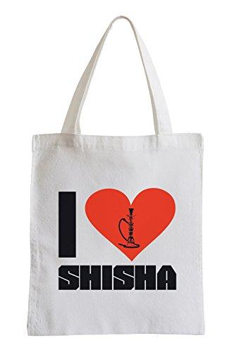 I love Shisha Fun Jutebeutel