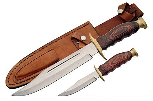 Szco Supplies 2 Piece Hunting Knife Set
