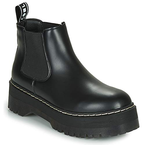 Coolway Damen ABEL Chelsea Boots, Schwarz (Black 000), 39 EU