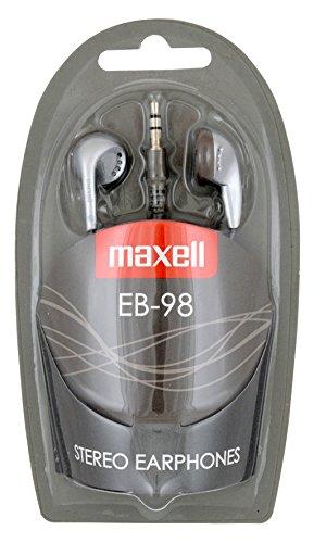 Maxell 303456 Kopfhörer EB-98 3,5 mm Klinke Silber