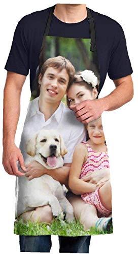Naispanda Personalizar DIY Delantales Personalizado Añadir su propia foto Imágenes Imagen Texto...